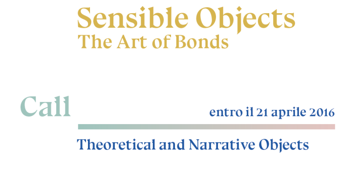 Sensible Objects: The Art of Bonds