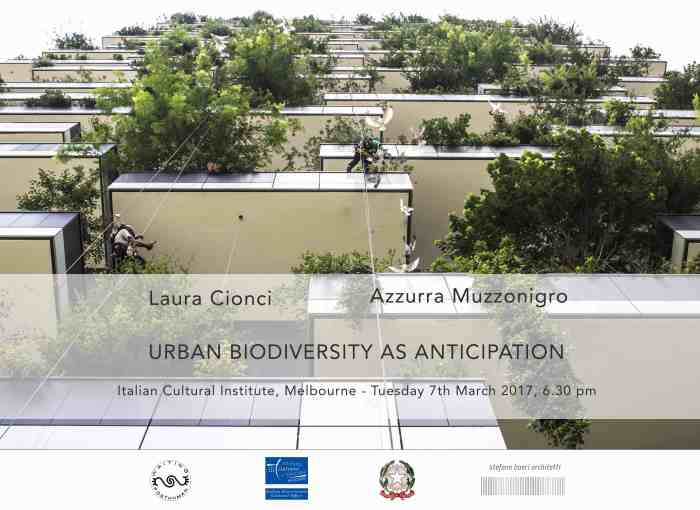 Melbourne | Urban Biodiversity as Anticipation