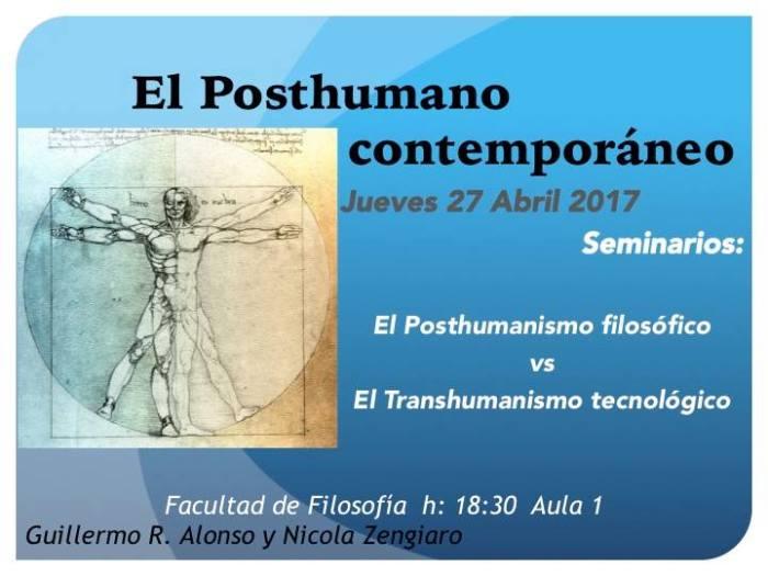 Seminario: O PosthumanoContemporáneo