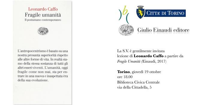 Fragile Umanità | Biblioteca Civica Centrale diTorino